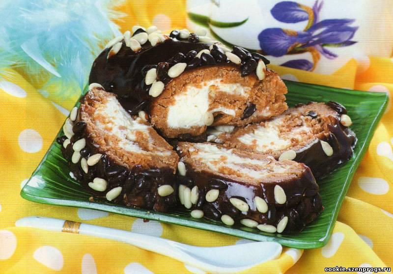 Торт из печенья «Рыбки» — рецепт с фото пошагово. Как ...