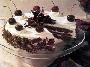 Торт лес