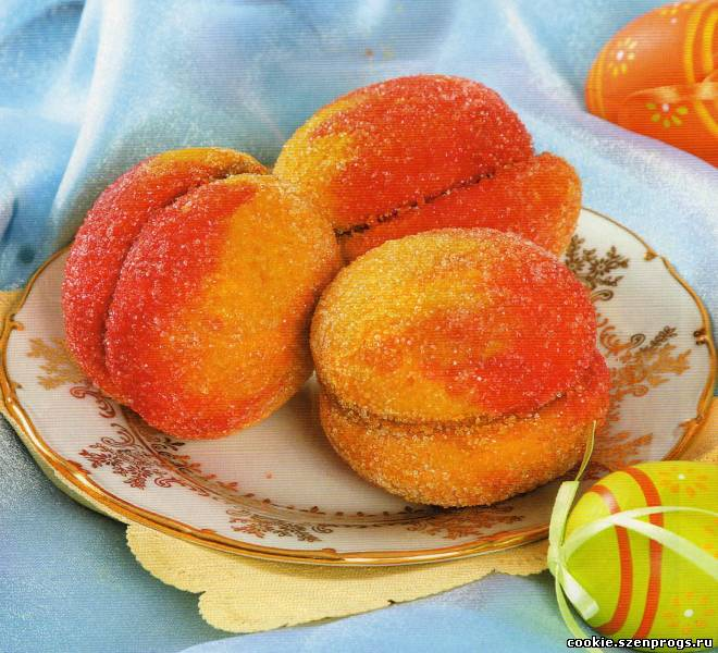 Персики со сгущенкой рецепт