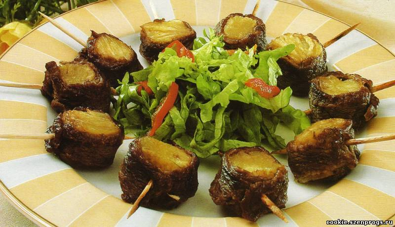 Рецепт приготовления горячих блюд фото