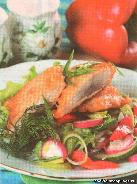 жареная рыбы в духовке рецепты с фото